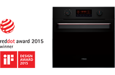 2015 - Disainiauhind Red Dot Design Award tootedisainis ja disainiauhind iF Design Award – sarjale Hansa UnIQ